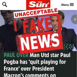 Pogba se irrita e critica jornal inglês: 'Notícia 100% ...