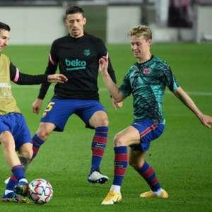 De Jong elogia Messi: 'Quando pode fazer a diferença, ...