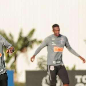 Com Piton, Corinthians faz treino tático de olho no ...