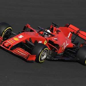 """Lenda alemã defende Vettel e diz: diferença para Leclerc """"não pode ser só culpa do piloto"""""""