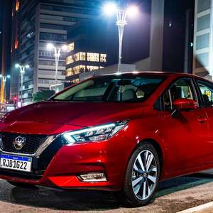 Nissan Versa é eleito o melhor carro da América Latina