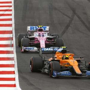 """""""Stroll não aprende"""", acusa Norris após incidente no GP ..."""
