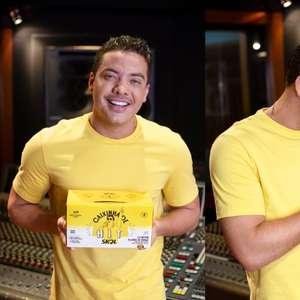 Wesley Safadão lança nova música em embalagem de cerveja