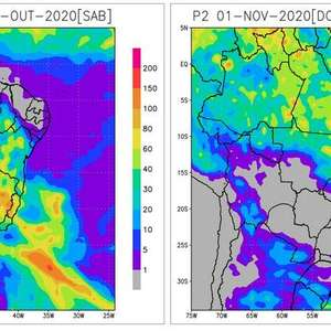 Ar seco enfraquece e umidade aumenta na Bahia