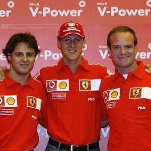 Massa vê Schumacher melhor do lado técnico, mas Hamilton ...