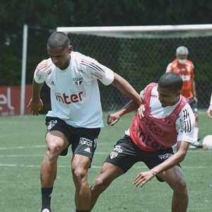São Paulo encerra preparação para encarar o Lanús; ...