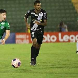 Por lesão no joelho, Guarani perde o meio-campista Eduardo Person