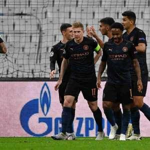 Manchester City joga bem e vence o Olympique de Marselha ...