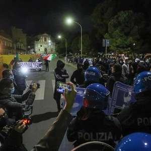 Protestos violentos são registrados em Palermo, Gênova e ...