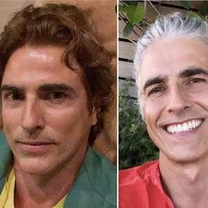 Reynaldo Gianecchini abandona visual grisalho que havia ...