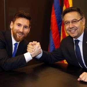 Com a renúncia de Bartomeu, Messi ainda pode deixar o ...
