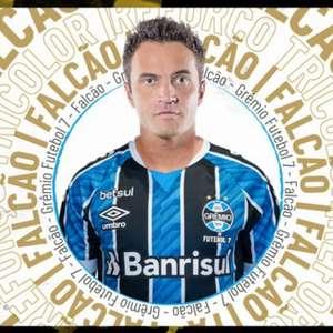 Futebol 7 do Grêmio se reforça com Falcão