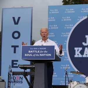 Biden vota antecipadamente nas eleições presidenciais ...