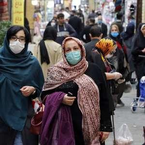Irã bate recorde e registra 415 mortes por Covid em 24 horas