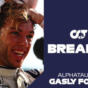 AlphaTauri anuncia permanência de Pierre Gasly na ...