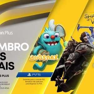 PS Plus de novembro tem jogos para PS4 e PS5