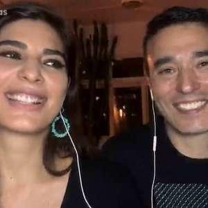 Andréia Sadi e André Rizek anunciam que serão pais de gêmeos