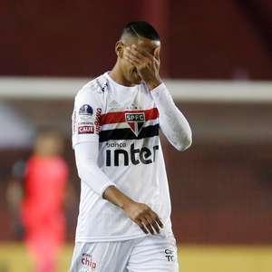São Paulo vai mal na Sula e perde para o Lanús fora de casa