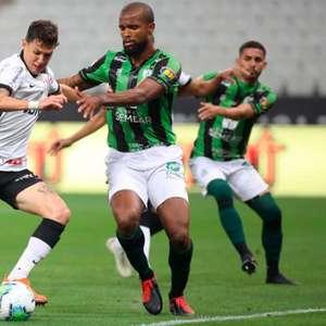 América-MG marca no fim e bate o Corinthians no jogo de ...