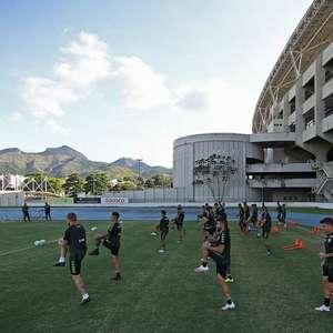 Por desgaste do campo anexo, Botafogo estuda treinar na ...