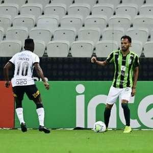 Seguro, América-MG traz boa vantagem para o jogo de volta contra o Corinthians em Belo Horizonte