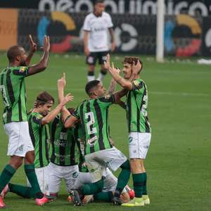 América-MG marca no fim e bate o Corinthians por 1 a 0 em SP