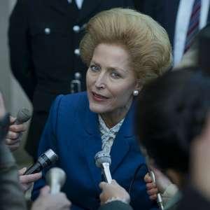 Gillian Anderson está fantástica como Thatcher em The Crown