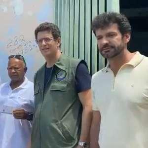 Sem agenda oficial, comitiva de ministros de Bolsonaro ...