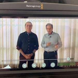 Bolsonaro volta a manifesta apoio a Crivella e Russumanno