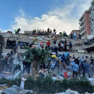 Forte terremoto mata 14 pessoas na Turquia e em ilhas gregas