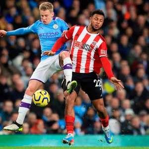 Na parte de baixo da tabela, Manchester City visita o ...