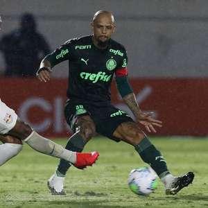 Capitão do Palmeiras, Felipe Melo elogia Andrey Lopes: ...