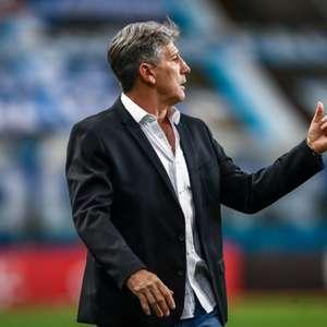 Renato Gaúcho comemora vantagem do Grêmio
