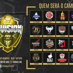 Division Pro marca início de competições virtuais no Fifa 21