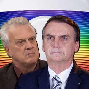 "Na Globo, Bial chama Bolsonaro de ""desclassificado e meio"""