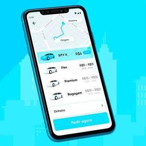 Sity, rival da Uber, oferece viagens de até 10 km por R$ 6