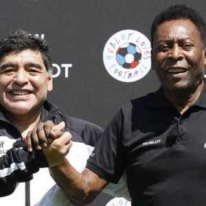 Pelé parabeniza Maradona nas redes: 'Meu amigo, vou ...
