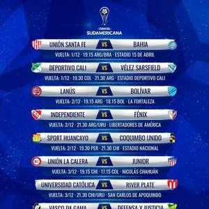 Conmebol anuncia datas das oitavas de final da Copa Sul- ...