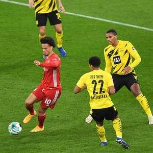 Bayern vence o Borussia Dortmund e assume a liderança
