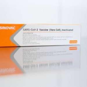 Primeiro lote da vacina chinesa contra covid-19 chega a SP