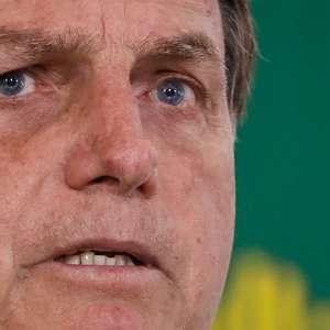 """Bolsonaro para Biden: """"Quando acaba a saliva, tem pólvora"""""""