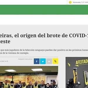 Palmeiras deu origem a surto de covid no Uruguai, diz jornal