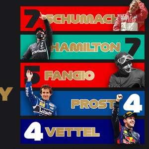 Hamilton e Schumacher são frutos do Pacto da Concórdia