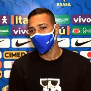 Habilidoso e versátil, Renan Lodi propõe novas 'cartadas' para Seleção