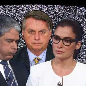 Erros técnicos fazem Bolsonaro e o JN virarem notícia juntos