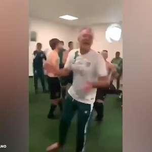 AMÉRICA-MG: Tem que respeitar! Lisca cai na dança após classificação contra o Inter
