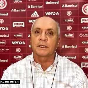 """INTERNACIONAL: Medeiros justifica contratação de Abel Braga: """"É campeão do mundo, se sente em casa e tem a dimensão do clube que treina"""""""