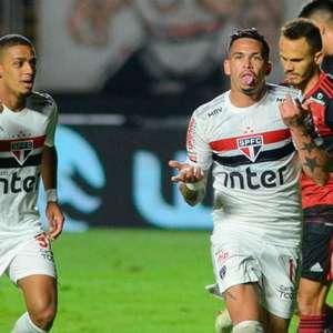 São Paulo bate Flamengo e está nas semis da Copa do Brasil
