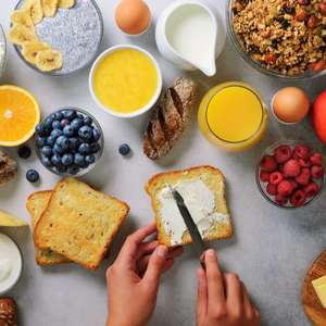 Café da manhã saudável: opções para substituir a farinha de trigo