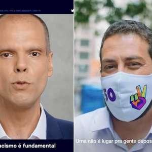 Datafolha: Covas tem 47% das intenções de voto e Boulos, 40%